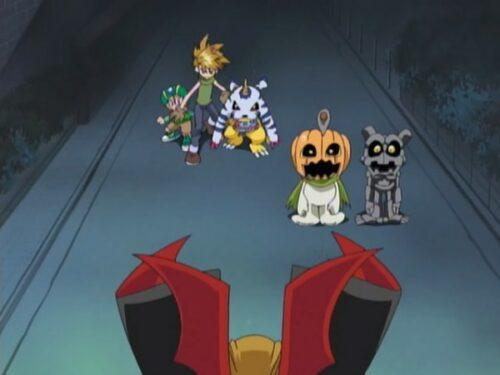 digimon halloween adventure