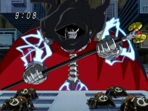 digimon halloween savers MetalPhantomon