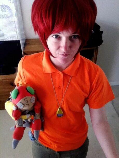 Koushiro from Digimon Adventure Cosplay
