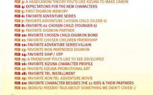 Digimon Adventure Kizuna Last Evolution Leadup Questions