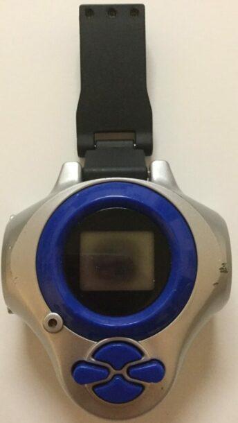 Digimon D-Power and D-Ark Digivice Shells v1 eu blue