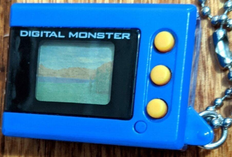 Digimon Digital Monster Mini Shells V1 blue
