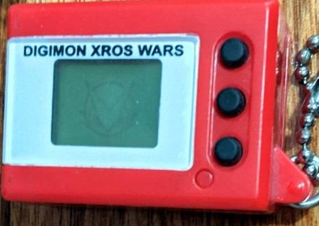 Digimon Digital Monster Mini Shells Xros Wars Shoutmon red