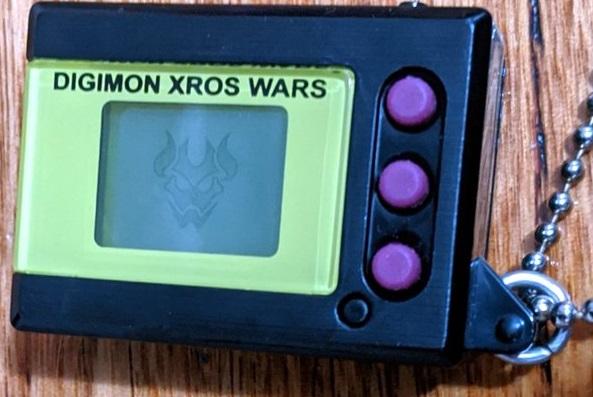 Digimon Digital Monster Mini Shells Xros Wars dark knightmon black