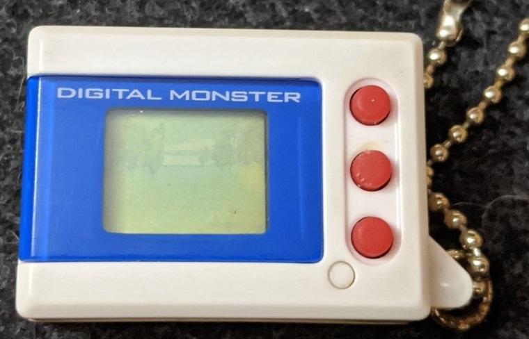 Digimon Digital Monster Mini Shells V2 blue