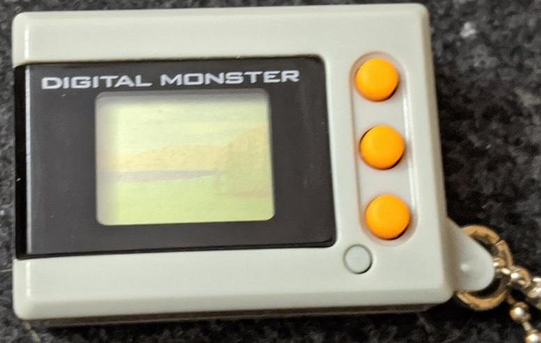 Digimon Digital Monster Mini Shells V1 grey
