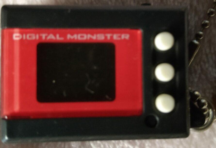 Digimon Digital Monster Mini Shells V3 red