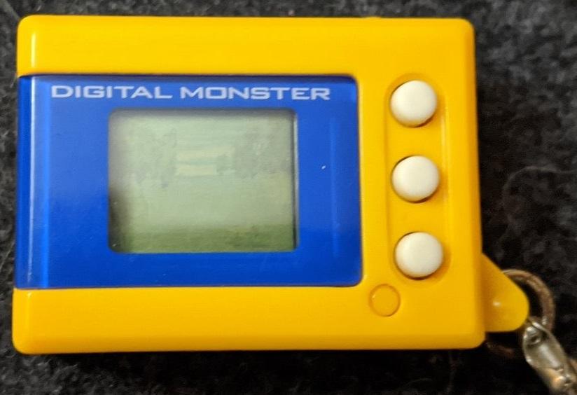 Digimon Digital Monster Mini Shells V2 yellow