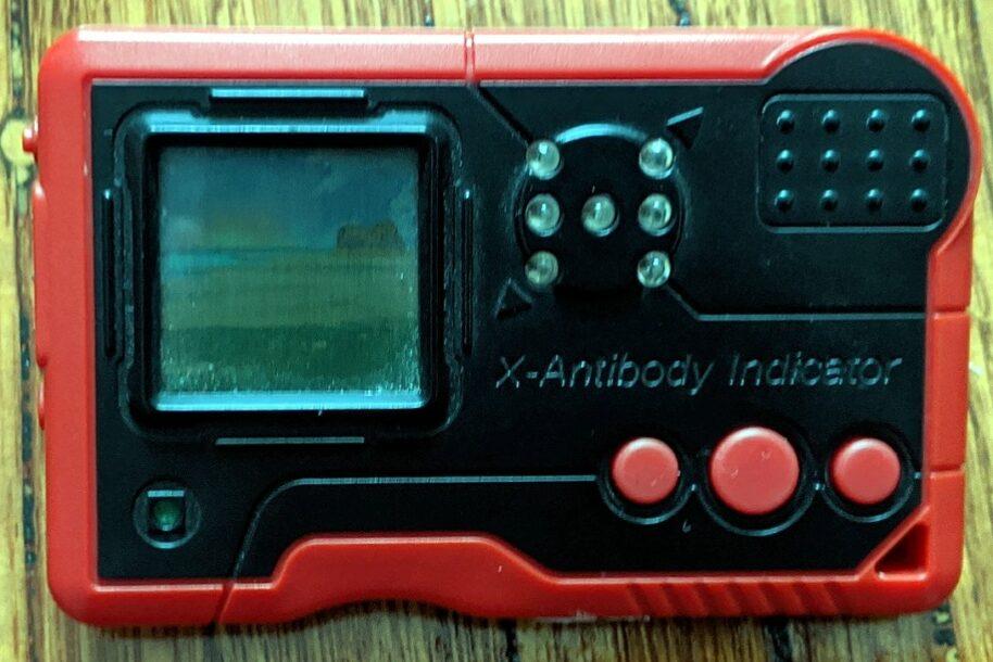 Digimon Pendulum X Shells version 1 red