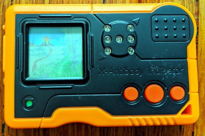Digimon Pendulum X Shells version 2 orange