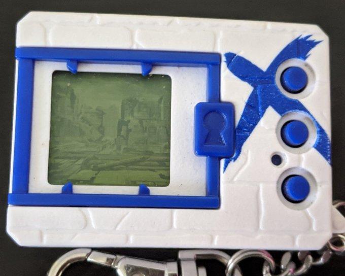 Digimon Digital Monster X Shells 1 White