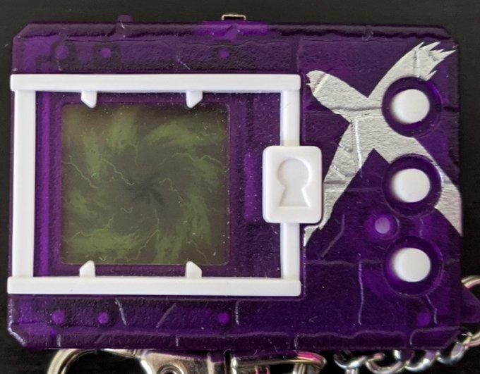 Digimon Digital Monster X Shells 2 Purple