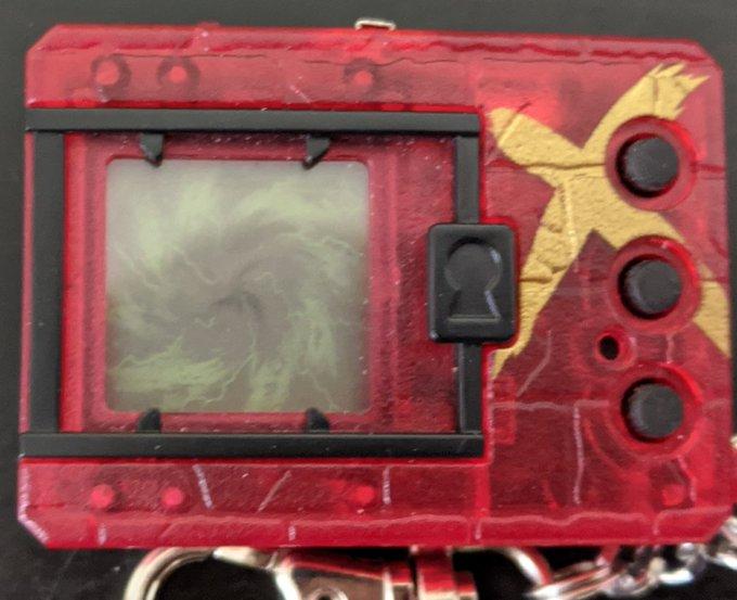 Digimon Digital Monster X Shells 2 Red