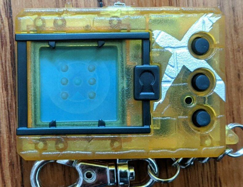 Digimon Digital Monster X Shells 3 Yellow