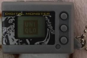 Digimon Mini Shells uniqlo type 3 vande