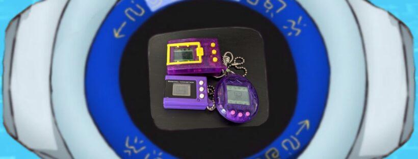 Purple Virtual Pet Shells Only! - Digi Diary #5