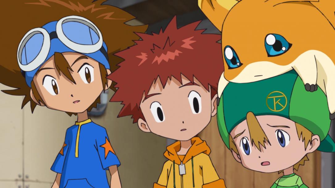 "Digimon Adventure 2020 Episode 38 ""The Blazing Blue Friendship"""