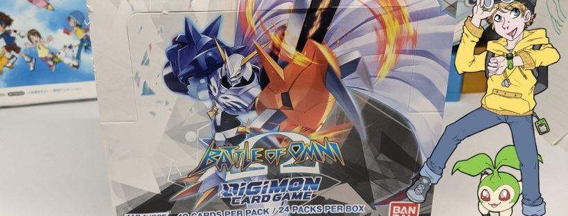 English Digimon TCG Battle of Omni BT05 Booster Box Opening