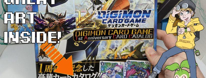 Digimon Card Game 1st Anniversary Card Catalog