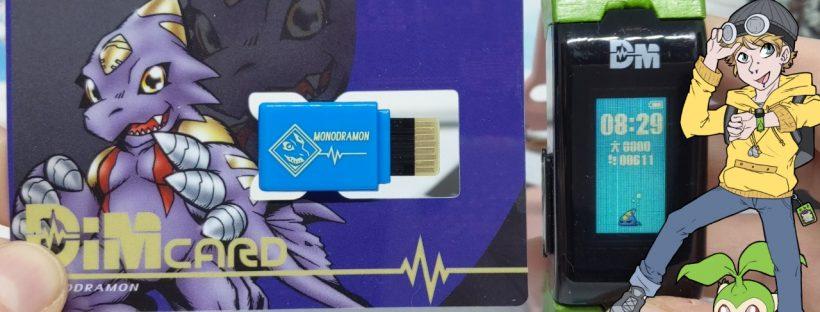 Monodramon Dim Card GP Start Up - Digimon Vital Bracelet Vlog #25