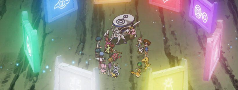"Digimon Adventure 2020 Episode 64 ""The Angels' Determination"""