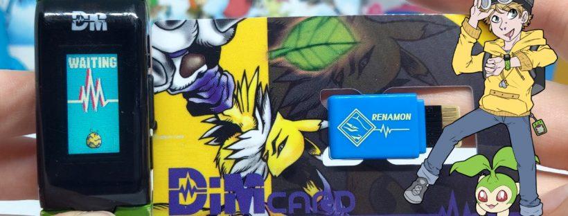 Renamon Dim Card GP Start Up and Glitches - Digimon Vital Bracelet Vlog #30